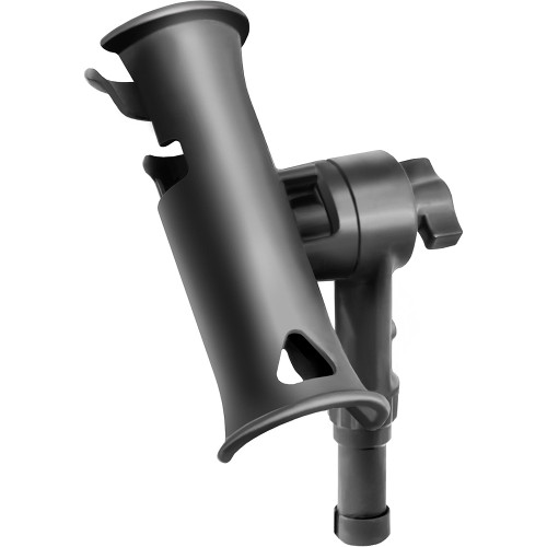 "RAM Mount Tube Jr. Fishing Rod Holder w\/Standard 4"" Length Post Spline [RAP-390-STU]"