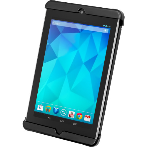 RAM Mount Tab-Tite Universal Clamping Cradle f\/Google Nexus 7 w\/ or w\/o Light Duty Sleeve [RAM-HOL-TAB18U]