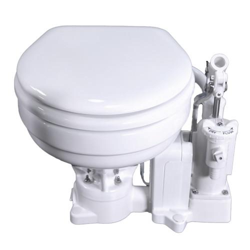 Raritan PH PowerFlush Electric Marine Bowl - 12V - White [P101E12]