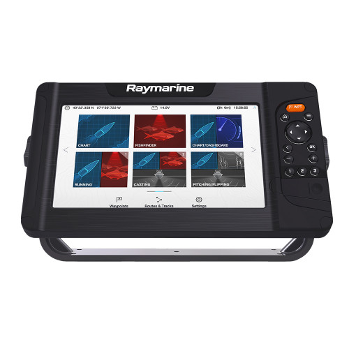 Raymarine Element 9 HV Chartplotter  Fishfinder Combo - No Transducer [E70534]