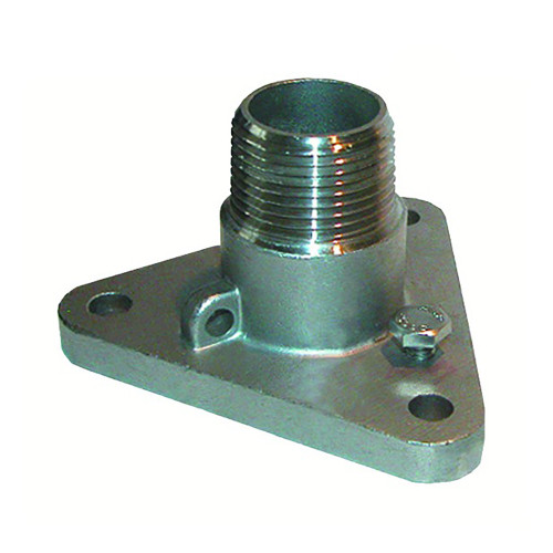 """GROCO 1"""" #316 Stainless Steel NPS to NPT Flange Adapter [IBVF-1000-S]"""
