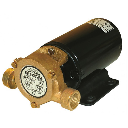 GROCO Heavy Duty Positive Displacement Vane Pump - 24V [SPO-60-N 24V]