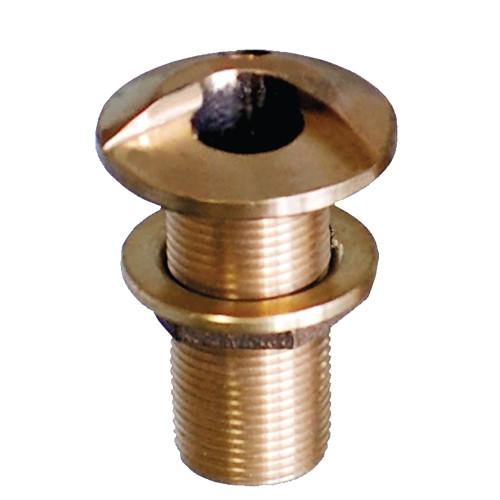 "GROCO 2-1\/2"" Bronze High Speed Thru-Hull Fitting w\/Nut [HSTH-2500-W]"
