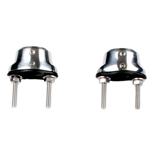 Edson Stainless Steel Pedestal Guard Mounting Feet - Pair [310ST-100-125]