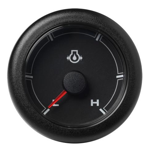 """VDO 2-1\/16"""" (52MM) OceanLink Engine Oil Pressure Low \/ High (150 PSI) Black Dial  Bezel [A2C1066020001]"""