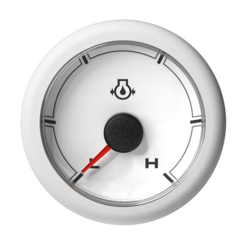 "VDO 2-1\/16"" (52MM) OceanLink Engine Oil Pressure Low \/ High (150 PSI) White Dial  Bezel [A2C1066030001]"