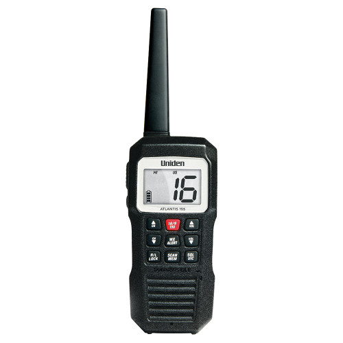 Uniden Atlantis 155 Floating Handheld VHF Marine Radio [ATLANTIS 155]