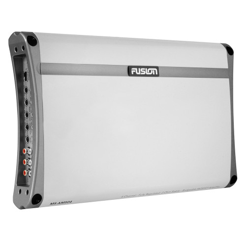 FUSION MS-AM504 4 Channel Marine Amplifier - 500W [010-01500-00]