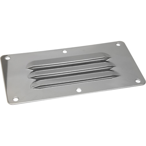 "Sea-Dog Stainless Steel Louvered Vent - 5"" x 9"" [331410-1]"