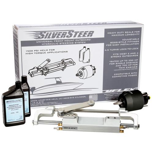 Uflex SilverSteer Front Mount Outboard Hydraulic Steering System - UC130 V1 [SILVERSTEERXP1]