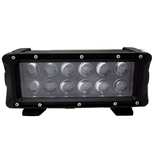 "HEISE Infinite Series 8"" RGB Backlite Dualrow Bar - 12 LED [HE-INFIN8]"