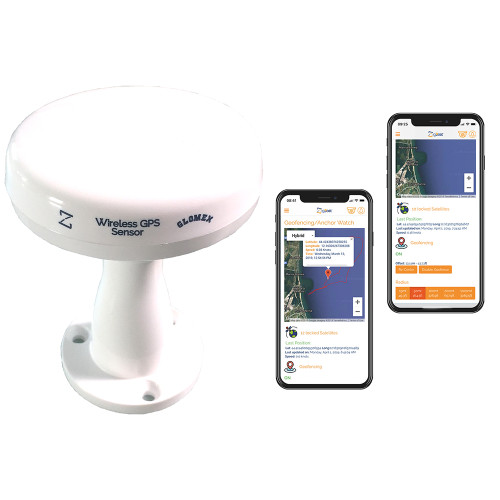 Glomex Wireless Zigbee GPS\/Tracking Antenna f\/Zigboat System [ZB211]