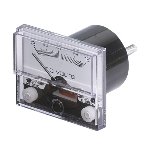 "Paneltronics Analog DC Ammeter 0-50DCA 2-1\/2"" - No Shunt Required [289-002B]"