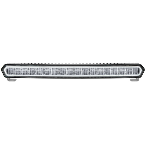 "RIGID Industries SR-L Series 20"" Off-Road LED Light Bar - Black w\/White Halo [63000]"