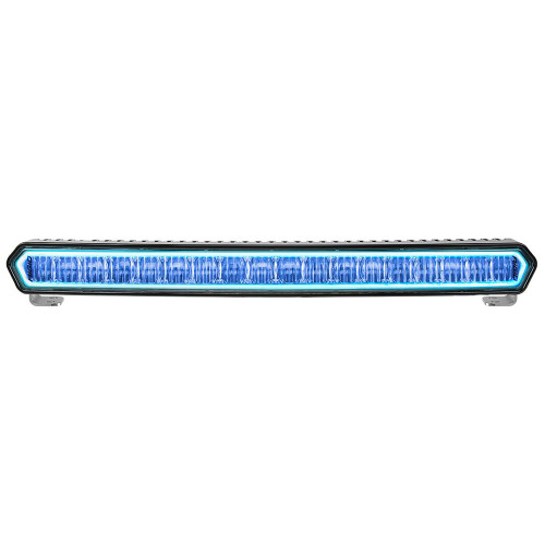 "RIGID Industries SR-L Series 20"" Off-Road LED Light Bar - Black w\/Blue Halo Back Lighting [63001]"