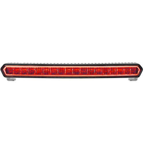 "RIGID Industries SR-L Series 20"" Off-Road LED Light Bar - Black w\/Red Halo Back Lighting [63002]"