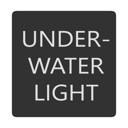 Blue Sea 6520-0535 Square Format Underwater Light Label [6520-0535]