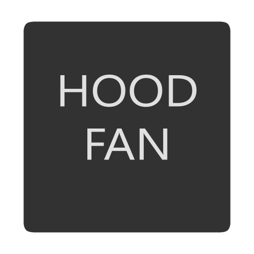 Blue Sea 6520-0268 Square Format Hood Fan Label [6520-0268]