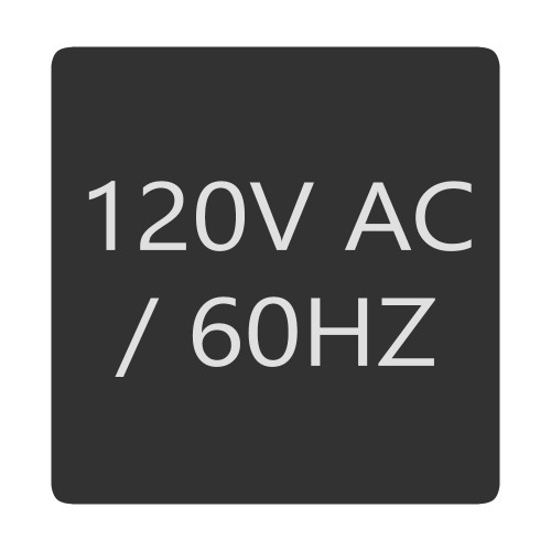 Blue Sea 6520-0007 Square Format 120V AC \/ 60HZ Label [6520-0007]