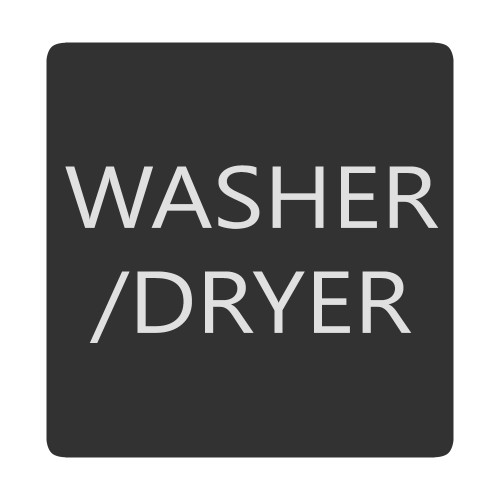 Blue Sea 6520-0436 Square Format Washer \/ Dryer Label [6520-0436]