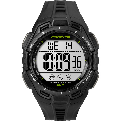 Timex Marathon Digital Full-Size Watch - Black [TW5K94800M6]