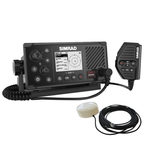 Simrad RS40-B VHF Radio w\/Class B AIS  GPS-500 Antenna [000-14818-001]