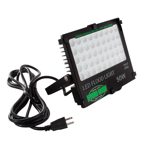Hydro Glow FL50 50W\/120VAC Flood Light - White [FL50W]