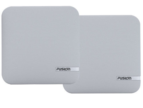 FUSION SM-X65CW Cloth Replacement Grill Cover - White [010-12936-10]