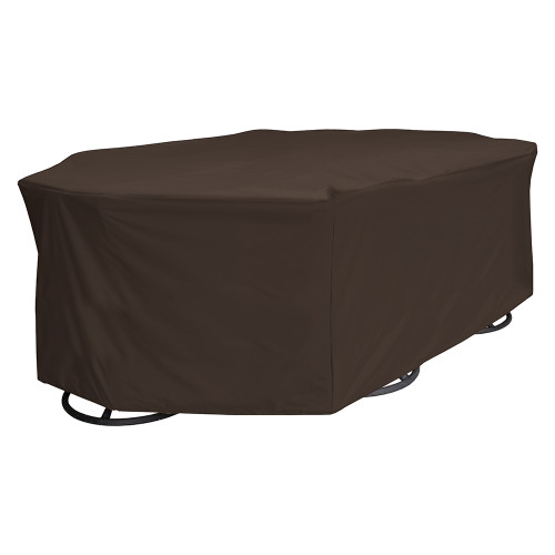 True Guard 6-Chair 600 Denier Rip Stop Patio Dining Set Cover [100538807]