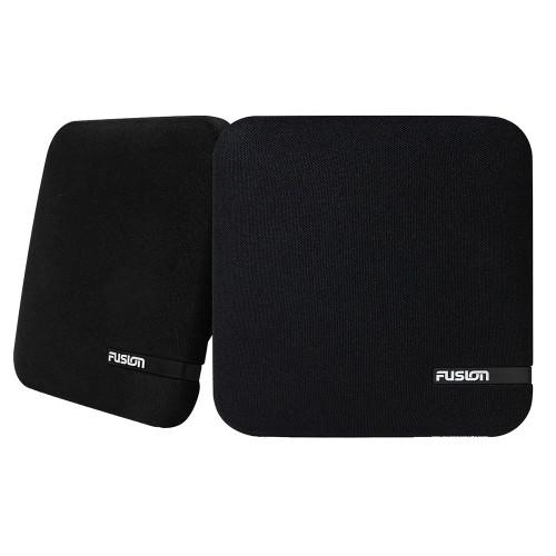 "FUSION SM-F65CB SM Series 6.5"" Shallow Mount Square Speakers - Black Cloth Grill - 100W [010-02263-11]"