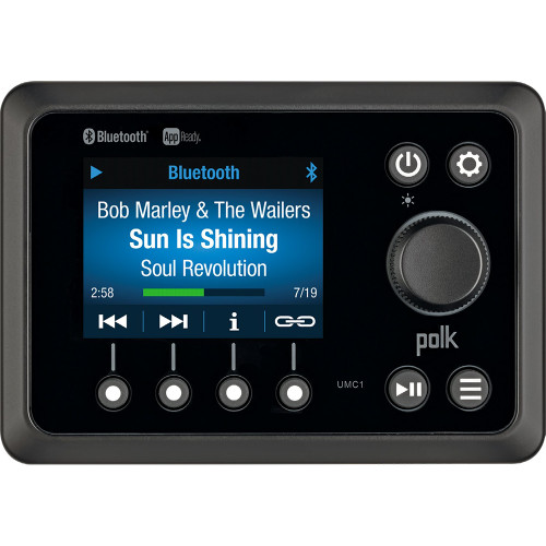Polk App Ready Marine Commander Stereo - BT\/AM\/FM\/APP [UMC1RTL]