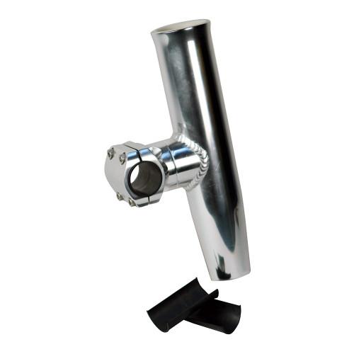 "C.E. Smith Adjustable Mid Mount Rod Holder Aluminum 1-1\/4"" or 1-5\/16"" w\/Sleeve  Hex Key [53771]"