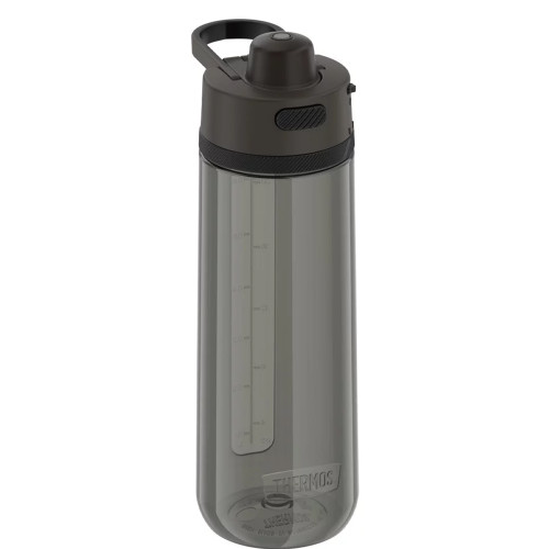 Thermos Guard Collection Hard Plastic Hydration Bottle w\/Spout - 24oz - Espresso Black [TP4329SM6]