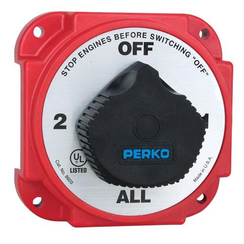 Perko Heavy Duty Battery Selector Switch w\/Alternator Field Disconnect [8603DP]