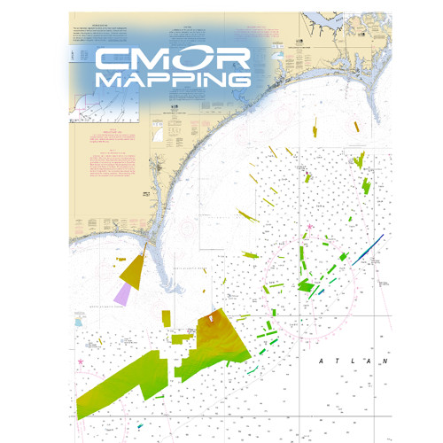 CMOR Mapping Georgetown  Cape Lookout f\/Raymarine [GTCL001R]