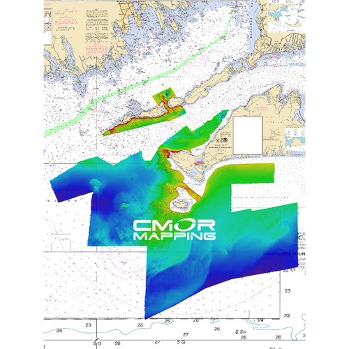 CMOR Mapping Long, Block Island Sound  Marthas Vineyard f\/Simrad, Lowrance, BG  Mercury [LIMV001S]