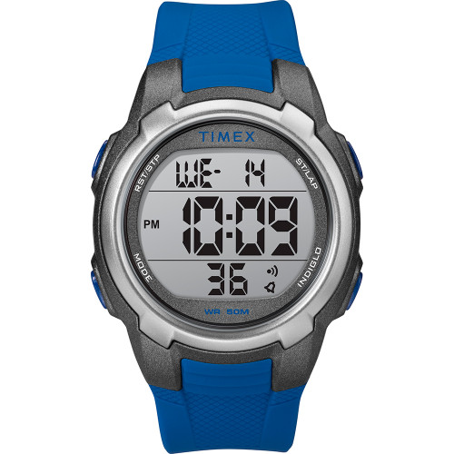 Timex T100 Blue\/Gray - 150 Lap [TW5M33500SO]