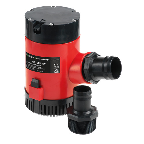 Johnson Pump Heavy Duty Bilge Pump 4000 GPH - 24V [40084]