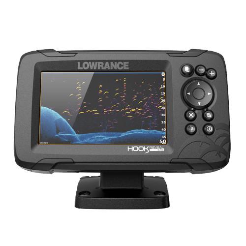 Lowrance HOOK Reveal 5x Fishfinder w\/SplitShot Transducer  GPS Trackplotter [000-15503-001]
