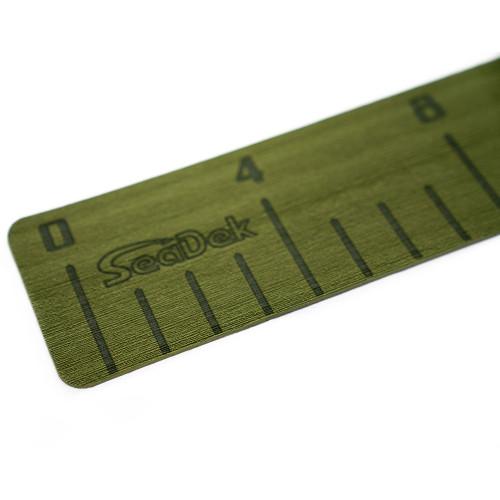 "SeaDek 4"" x 36"" 3mm Fish Ruler w\/Laser SD Logo - Olive Green [22135-80050]"