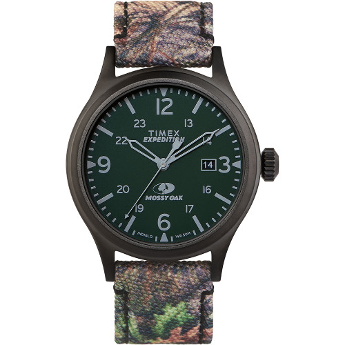 Timex x Mossy Oak Standard - 40mm Case - Dark Camouflage [TW2T94600SO]