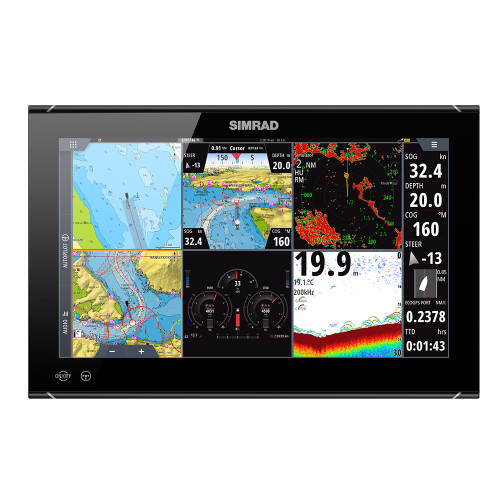 """Simrad NSO evo3S 16"""" MFD System Pack [000-15126-001]"""