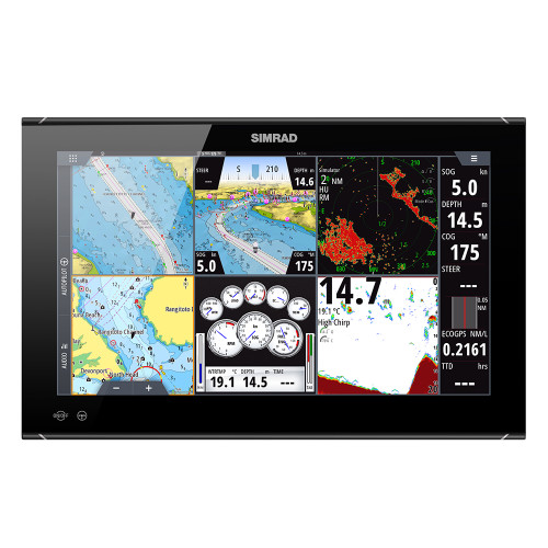 """Simrad NSO evo3S 19"""" MFD System Pack [000-15127-001]"""