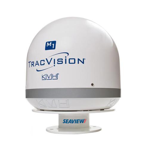 "Seaview 3"" Low Profile Satdome Mount f\/KVH M1\/M1DX\/TV1, Intellian i1 & i2, Raymarine 33STV [AMA-GXF]"