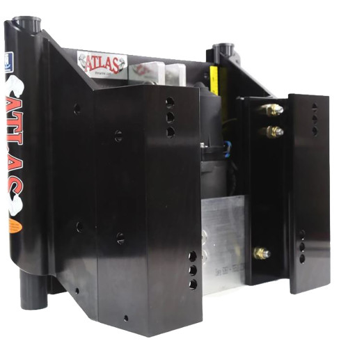 "T-H Marine ATLAS 8"" Set Back Hydraulic Jack Plate - Heavy Duty Black [AHJ-8VHD-B-DP]"