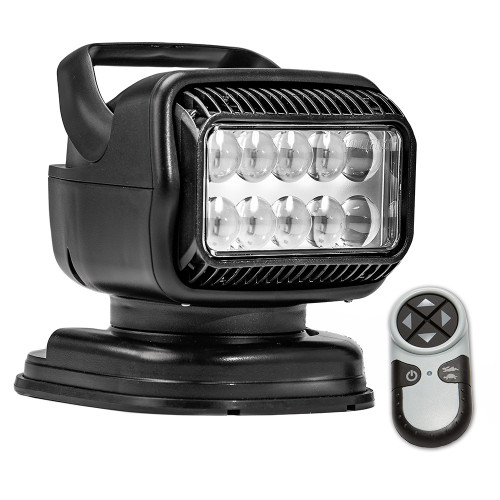 Golight Radioray GT Series Portable Mount - Black LED - Handheld Remote Magnetic Shoe Mount [79514GT]