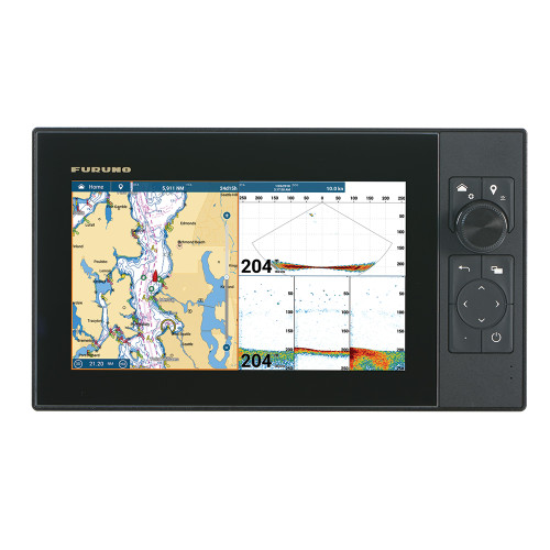 "Furuno NavNet TZtouch3 12"" MFD w\/1kW Dual Channel CHIRP Sounder w\/Internal GPS [TZT12F]"