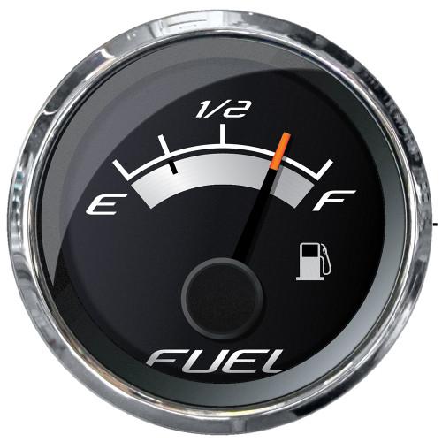 """Faria Platinum 2"""" Fuel Level Gauge (E-1\/2-F) [22021]"""