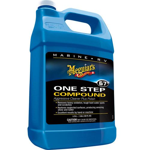 Meguiars Marine One-Step Compound - 1 Gallon [M6701]