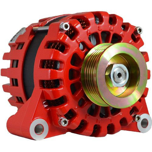 Balmar Alternator 170AMP, 12V, Vortec Mount, K6 Pulley w\/Internal Regulator  Isolated Grounding [XT-VT-170-IR-IG]